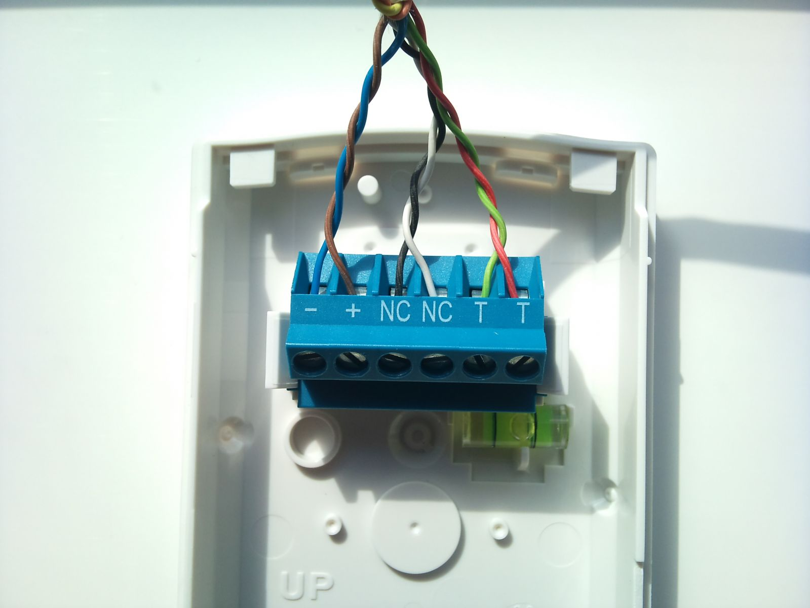bosch blueline pet pir - members gallery - security ... hubbell motion sensor wiring diagram