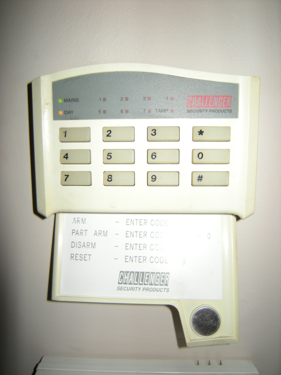 Wiring Diagram For Alarm Keypad : Can i replace remote keypad challanger alarm system