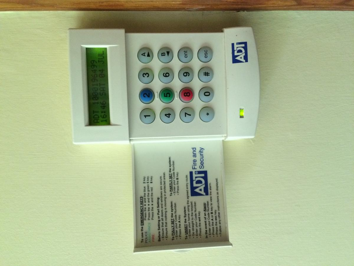 Adt Alarm Panel Keeps Beeping - Control Panels (Public